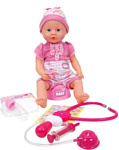 Simba New Born Baby Baby with Doctor Accessories 105032355