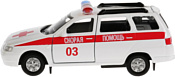 Технопарк Lada 111 Скорая SB-16-67-A-WB