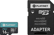 Platinet PMMSD16UI 16GB + SD adapter
