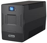 Mustek PowerMust 1000 LCD IEC/Schuko