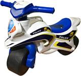 Doloni-Toys Полиция (белый/синий)