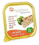 Applaws Cat Pate with Salmon (0.1 кг) 10 шт.