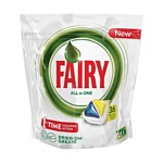 "Fairy Original Lemon ""All in 1"" (36 tabs"