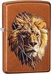 Zippo Polygonal Lion Design 29865
