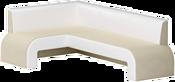 Mebelico Кармен 58831 (левый, бежевый/белый)