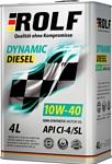 ROLF Dynamic Diesel 10W-40 CI-4/SL 4л