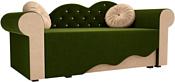Mebelico Тедди-2 170x70 60505 (зеленый/бежевый)