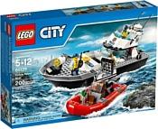 LEGO City 60129 Полицейский патрульный катер