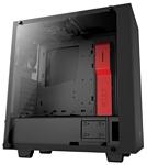 NZXT S340 Elite Black\red