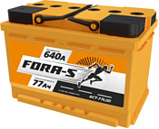 Fora-S 6СТ-77L(0) (77Ah)