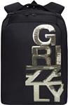 Grizzly RD-044-3/2 (черный/золотистый)