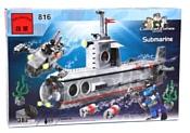 Enlighten Brick CombatZones 816 Субмарина