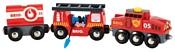 Brio Набор ''Пожарный поезд'' 33844