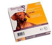 Вектра 3D (СЕВА) Капли для собак весом 1,5–4 кг