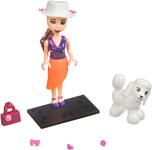 Bondibon OLY с пуделем в розовом чемодане с аксессуарами ВВ4539
