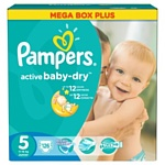 Pampers Active Baby-Dry 5 Junior 126шт