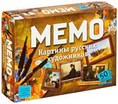 Нескучные игры Мемо - Картины русских художников