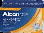 Alcon Air Optix Night & Day Aqua -4.25 дптр 8.6 mm