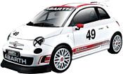 Bburago Abarth 500 Assetto Corse 18-28101 (белый)