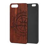 Case Wood для Apple iPhone 7/8 (палисандр, компас)