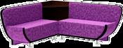 Mebelico Лотос 58902 (фиолетовый/черный)