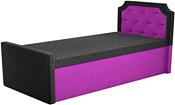 Mebelico Севилья 160x157 59590 (черный/фиолетовый)