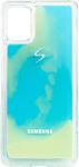EXPERTS NEON SAND TPU CASE для Samsung Galaxy A31 с LOGO (синий)