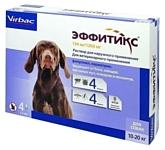 Virbac капли от блох и клещей Эффитикс для собак и щенков от 10 до 20 кг