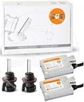SVS Блок Slim v3 AC 9-32В с обманкой 35Вт 9007/HB5 5000K (биксенон)
