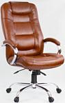 OfficeMarket Авиатор хром (экокожа, светло-коричневый)