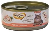Мнямс (0.07 кг) 1 шт. Консервы для кошек Курица с лососем в нежном желе