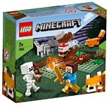 LEGO Minecraft 21162 Приключения в тайге