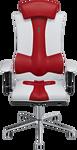 Kulik System Elegance (с подголовником, красный/белый)