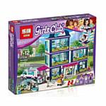 Lepin Friends 01039 Клиника Хартлейк Сити аналог Lego 41318
