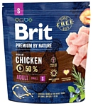 Brit (1 кг) Premium by Nature Adult S