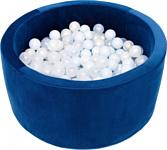Misioo 90x40 200 шаров (темно-синий вельвет)