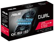 ASUS Dual Radeon RX 5700 1515 MHz PCI-E 4.0 8192MB 14000MHz 256 bit HDMI 3xDisplayPort HDCP EVO OC