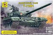Моделист Танк Т-72М1 с микроэлектродвигателем 304872
