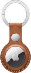 Apple кожаный для AirTag с кольцом для ключей (коричневый) MX4M2