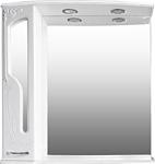 Atoll Шкаф с зеркалом Барселона 185 (lucido, белый глянец)