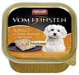 Animonda Vom Feinsten Adult Меню для привередливых собак с курицей, бананом и абрикосами (0.15 кг) 1 шт.