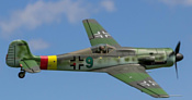 FreeWing Focke-Wulf Ta 152H PNP (FLW205P)