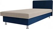 Лига диванов Мальта 200x80 101739 (бежевый/синий)