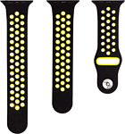 Evolution AW44-SP01 для Apple Watch 42/44 мм (black/yellow)