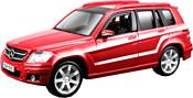 Bburago Mercedes-Benz GLK-Class 18-43016 (красный)