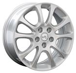 LegeArtis H43 6.5x17/5x114.3 D64.1 ET50 Silver