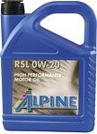 Alpine RSL 0W-20 5л