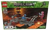 JLB Minecraft 3D33 Подземная железная дорога