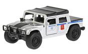 Технопарк Hummer H1 Пикап Полиция SB-18-09-H1-P-WB