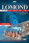 Lomond Суперглянцевая A4 240 г/кв.м. 20 л (1105100)